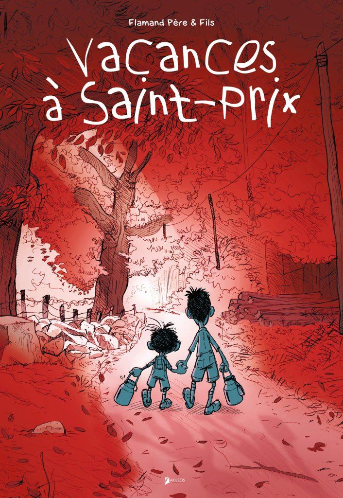 Vacances à Saint-Prix - couverture