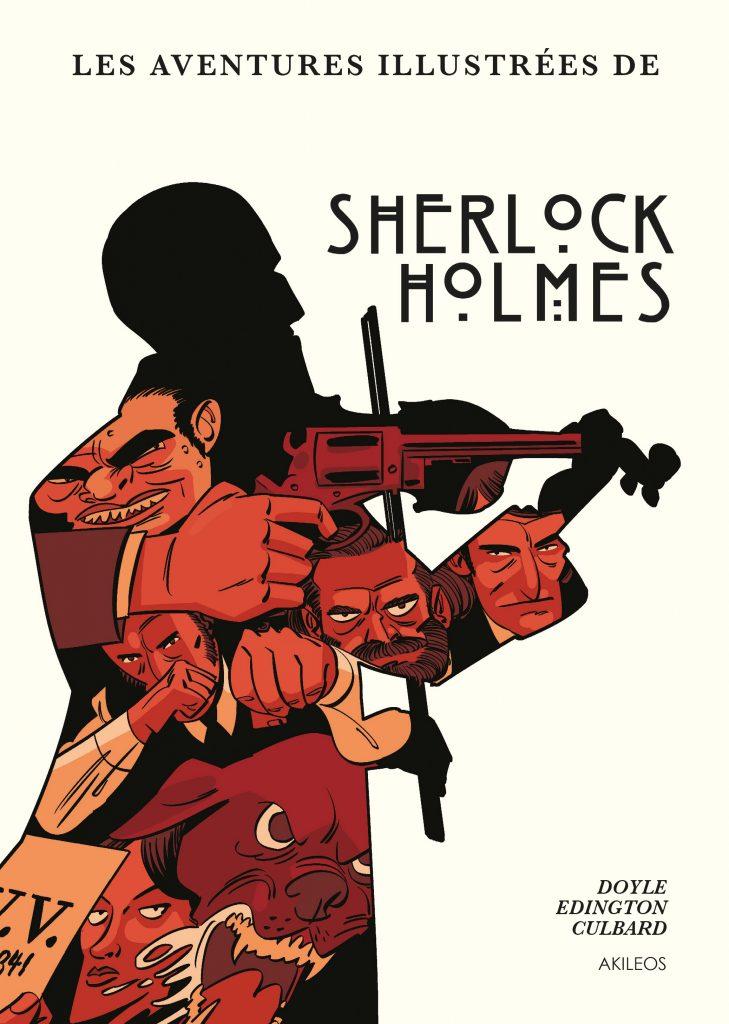 Les aventures illustrées de Sherlock Holmes - couverture