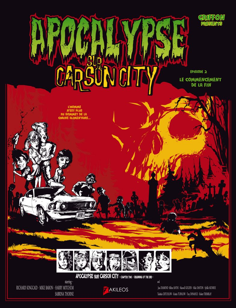 Apocalypse sur Carson City, T.2 – Le commencement de la fin - couverture