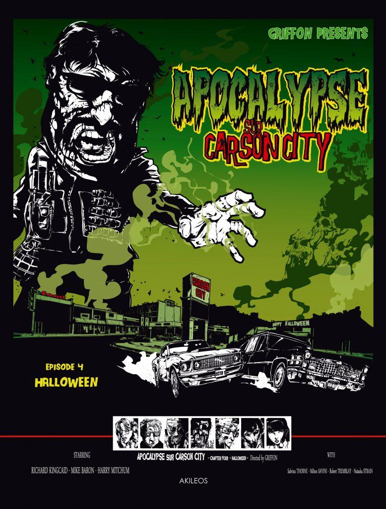 Apocalypse sur Carson City, T.4 – Halloween - couverture