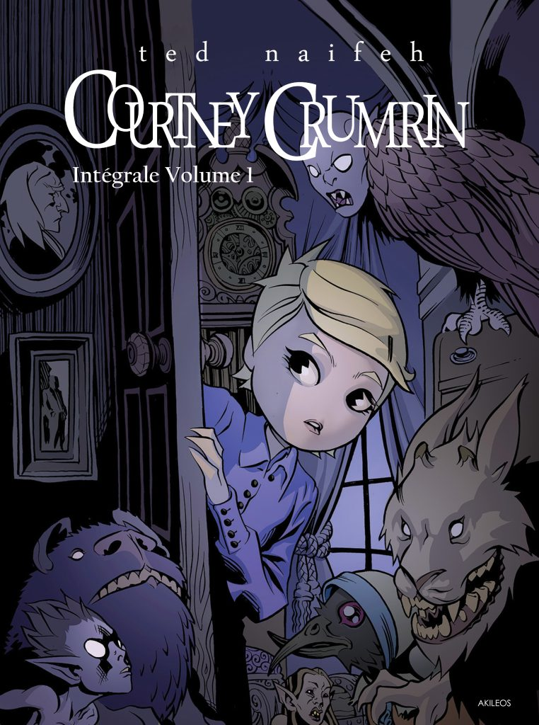 Courtney Crumrin – Intégrale, T.1 - couverture