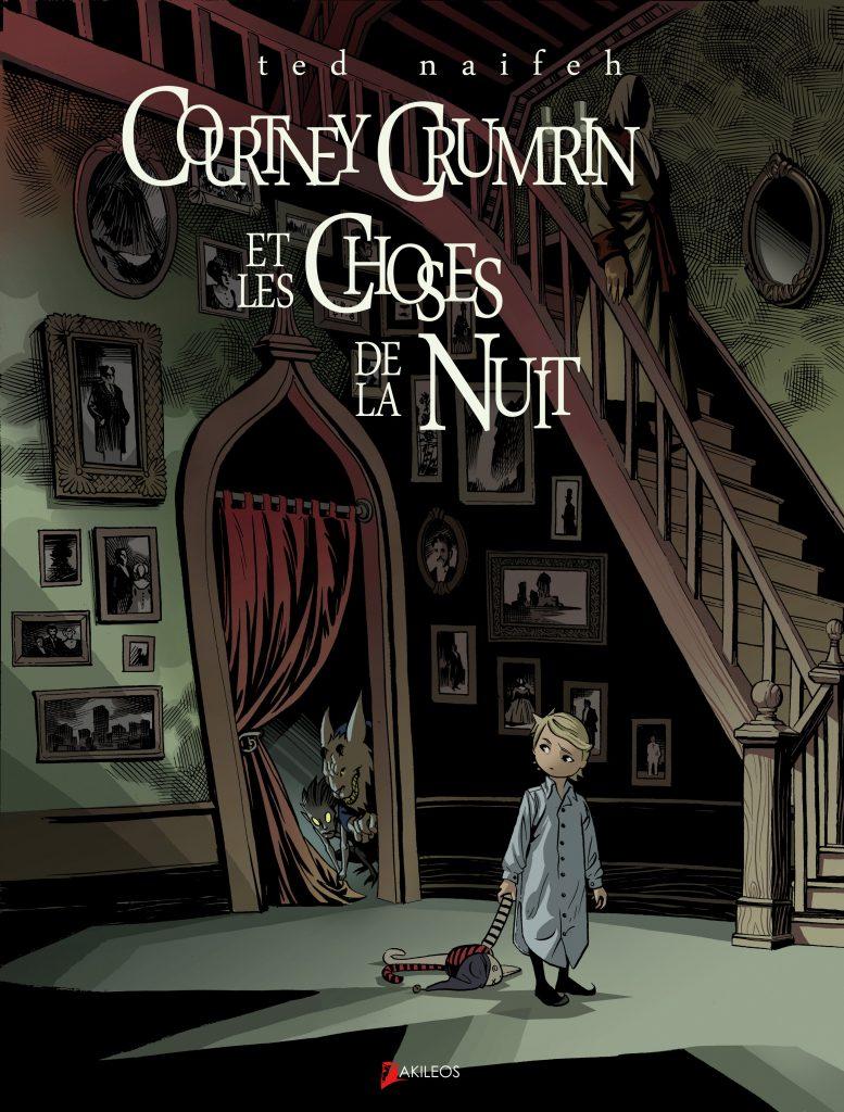 Courtney Crumrin, T.1 – Les Choses de la nuit - couverture