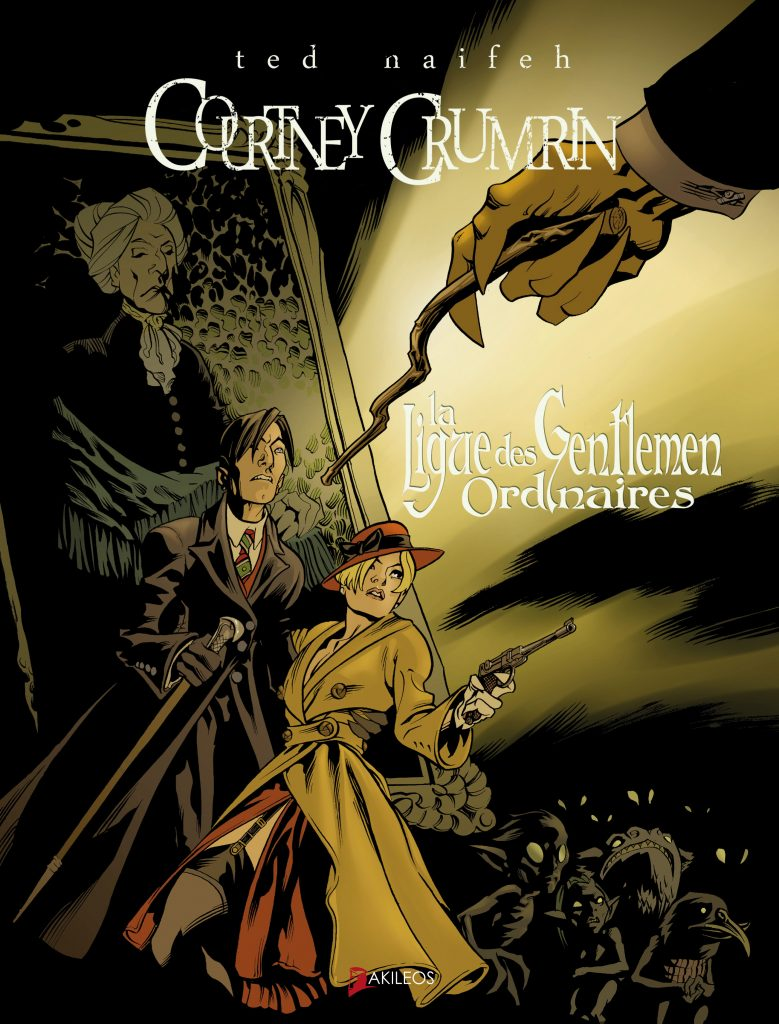 Courtney Crumrin – Hors série, T.2 – La ligue des gentlemen ordinaires - couverture