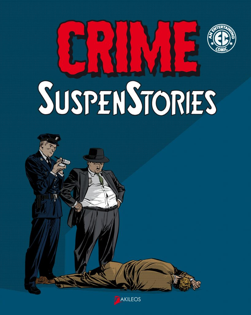 Crime SuspenStories, T.1 - couverture