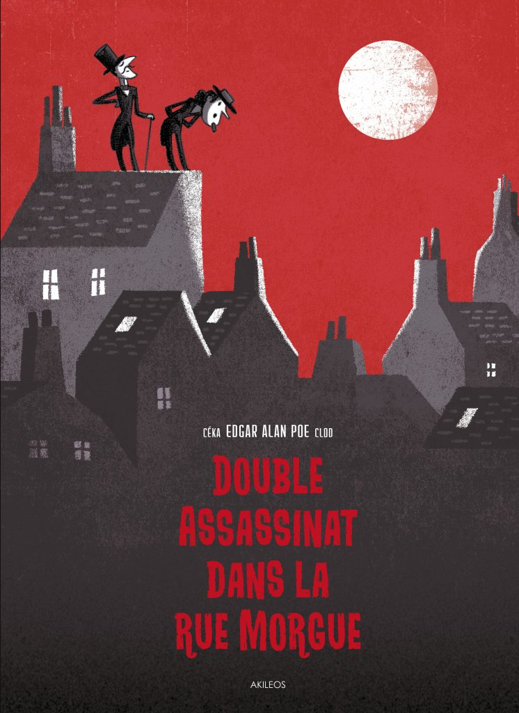 Double assassinat dans la rue Morgue - couverture