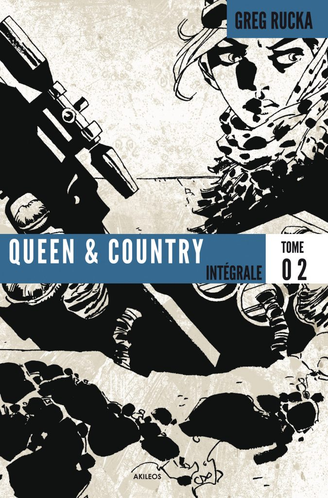 Queen & Country – Intégrale, T.2 - couverture