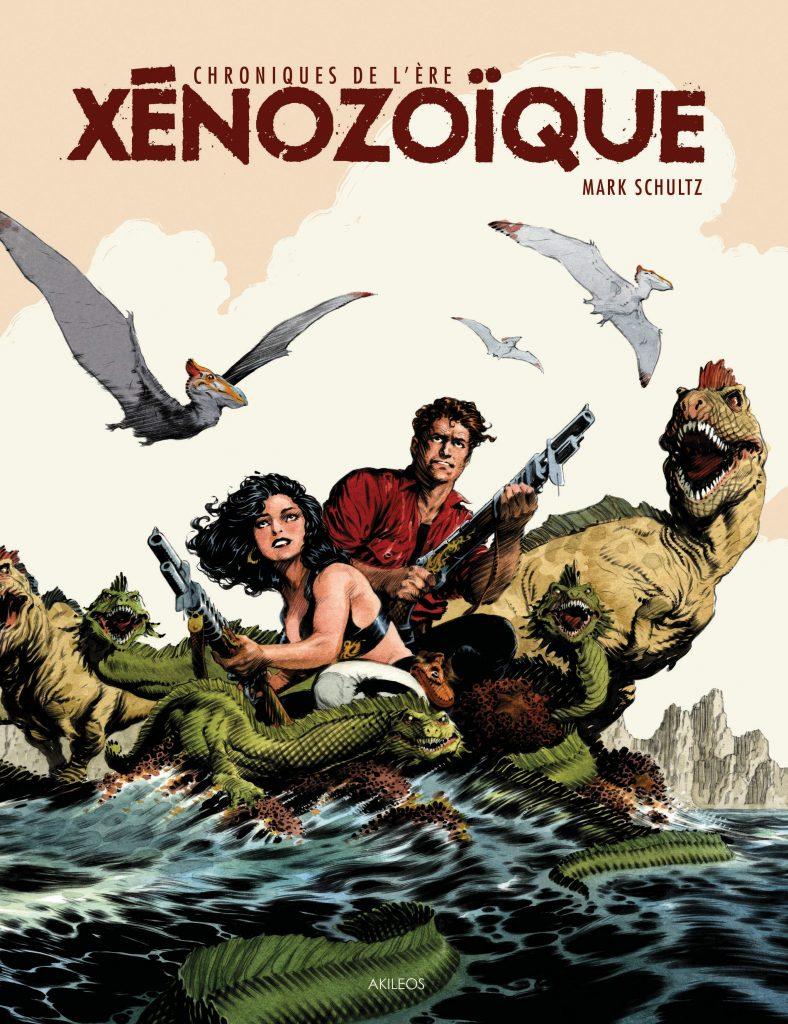 Chroniques de l'ère xénozoïque – Intégrale - couverture