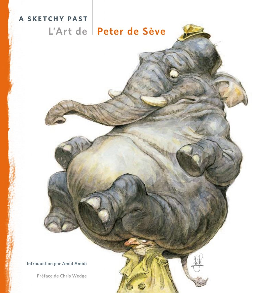 L'Art de Peter de Sève – A sketchy Past - couverture