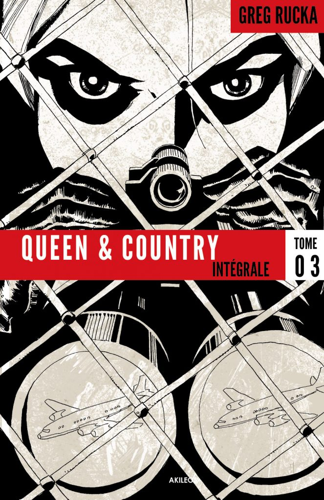 Queen & Country – Intégrale, T.3 - couverture
