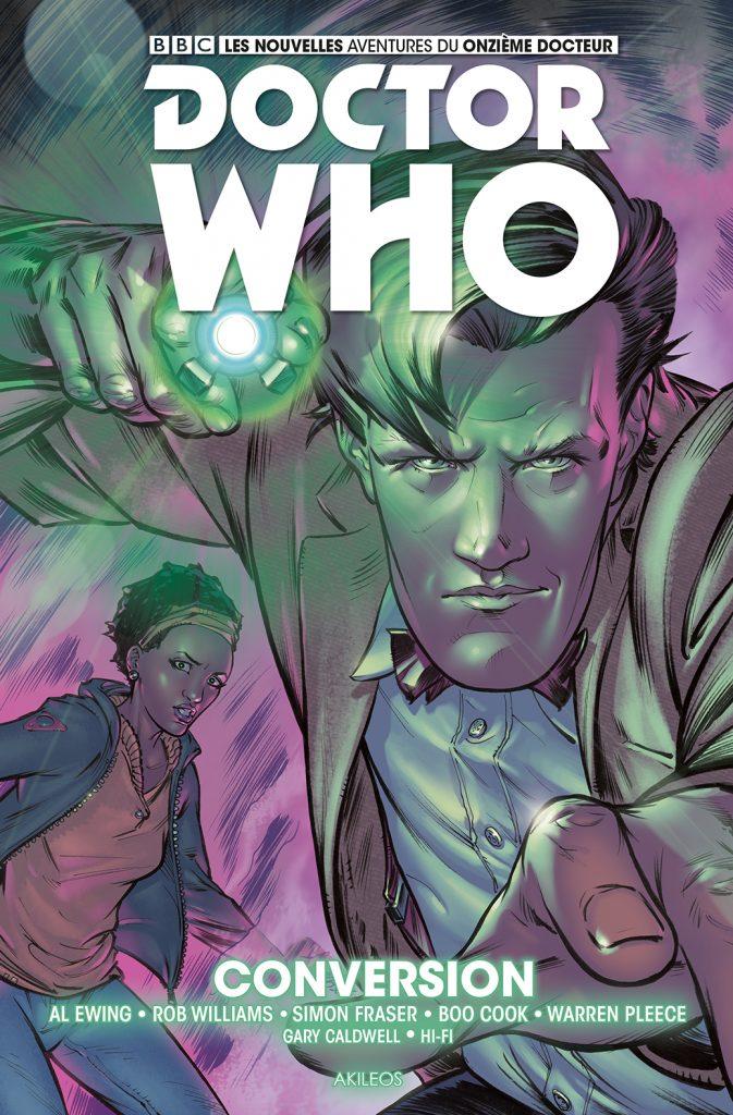 Doctor Who – Les nouvelles aventures du 11e docteur, T.3 - couverture
