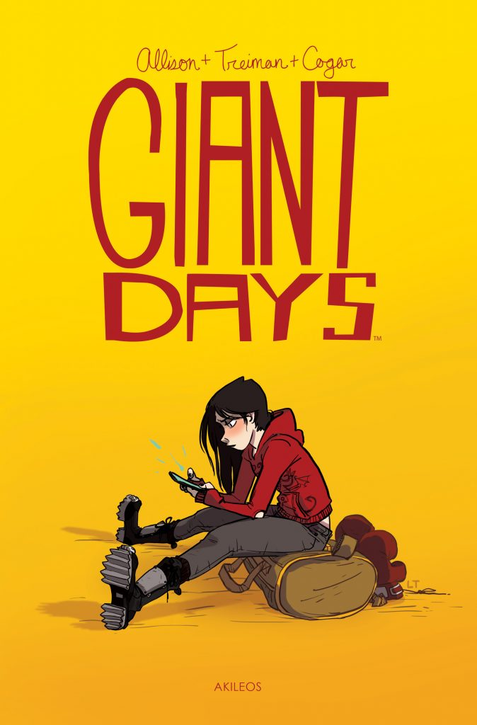Giant Days, T.1 - couverture