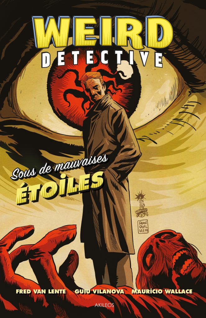 Weird Detective, T.1 – Sous de mauvaises étoiles - couverture