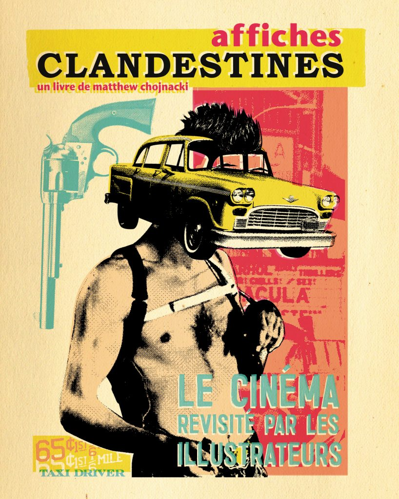 Affiches clandestines – Le cinéma revisité par les illustrateurs - couverture
