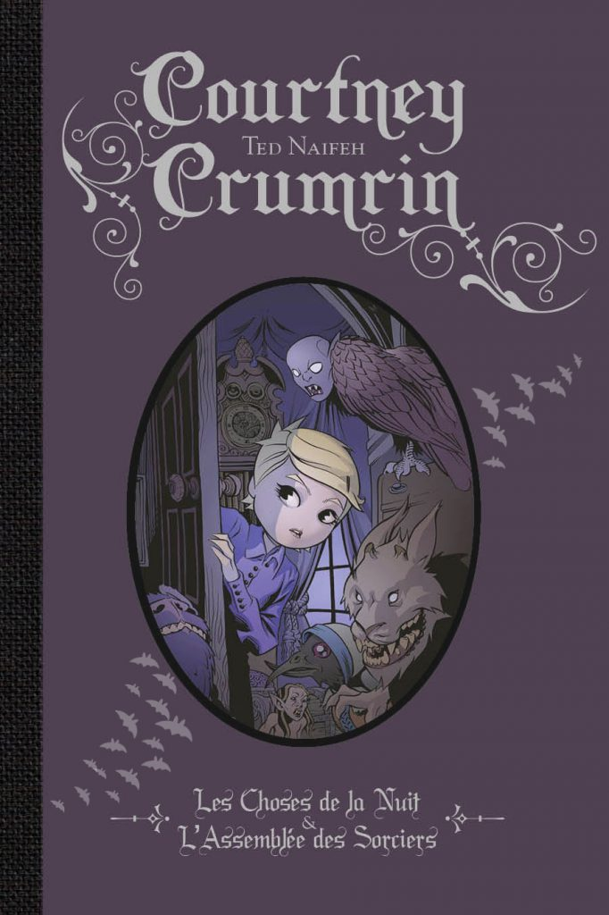 Courtney Crumrin (couleur) – Intégrale, T.1 - couverture