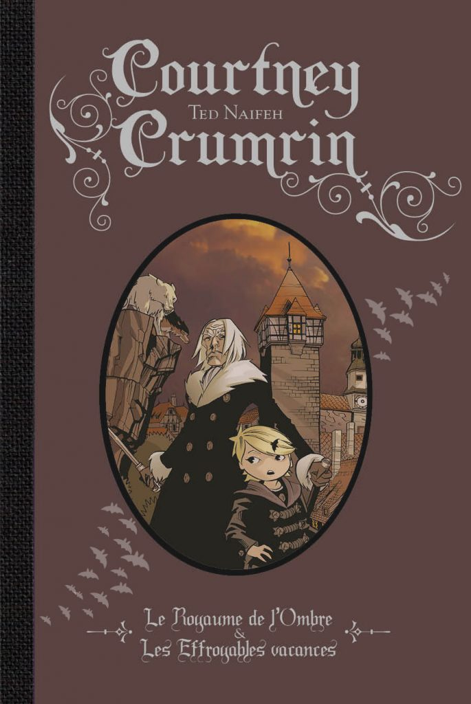 Courtney Crumrin (couleur) – Intégrale, T.2 - couverture