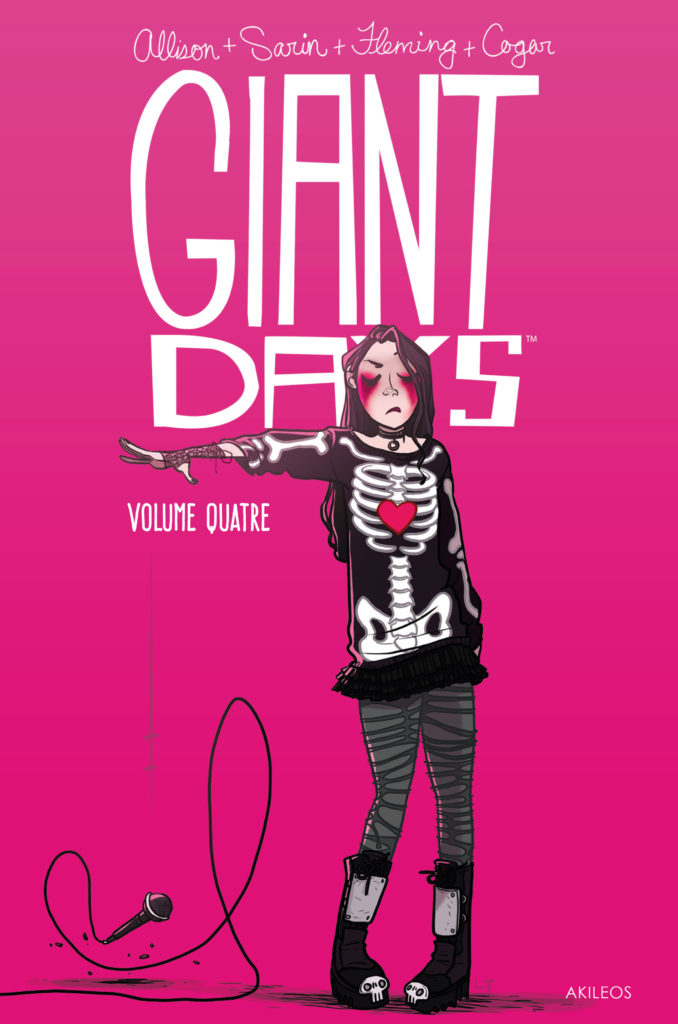 Giant Days, T.4 - couverture