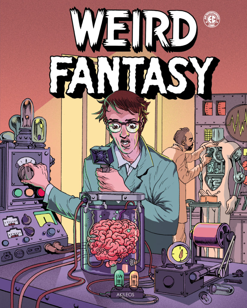 Weird Fantasy, T.1 - couverture