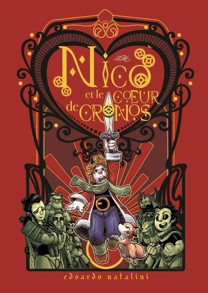 Nico et le Cœur de Cronos - couverture