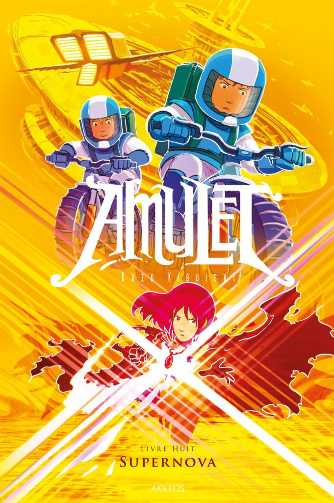 Amulet, T.8 – Super Nova - couverture