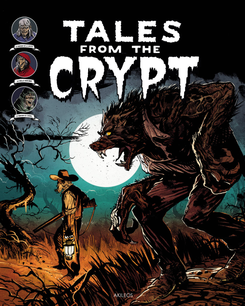 Tales from the Crypt, T.5 (+ livret des couvertures originales) - couverture