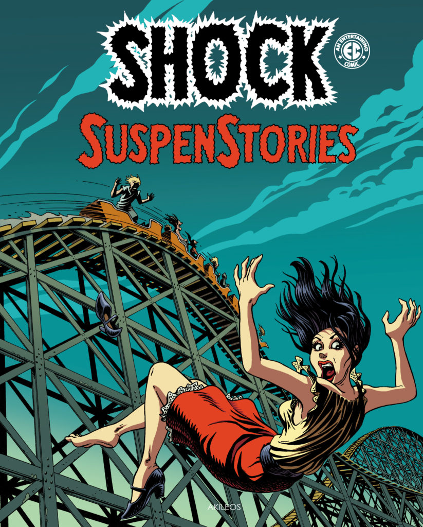 Shock SuspenStories, T.3 + Livret de couvertures originales - couverture