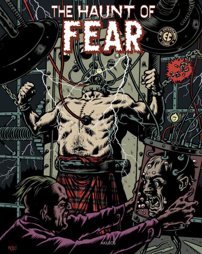 The Haunt of Fear, T.3 - couverture