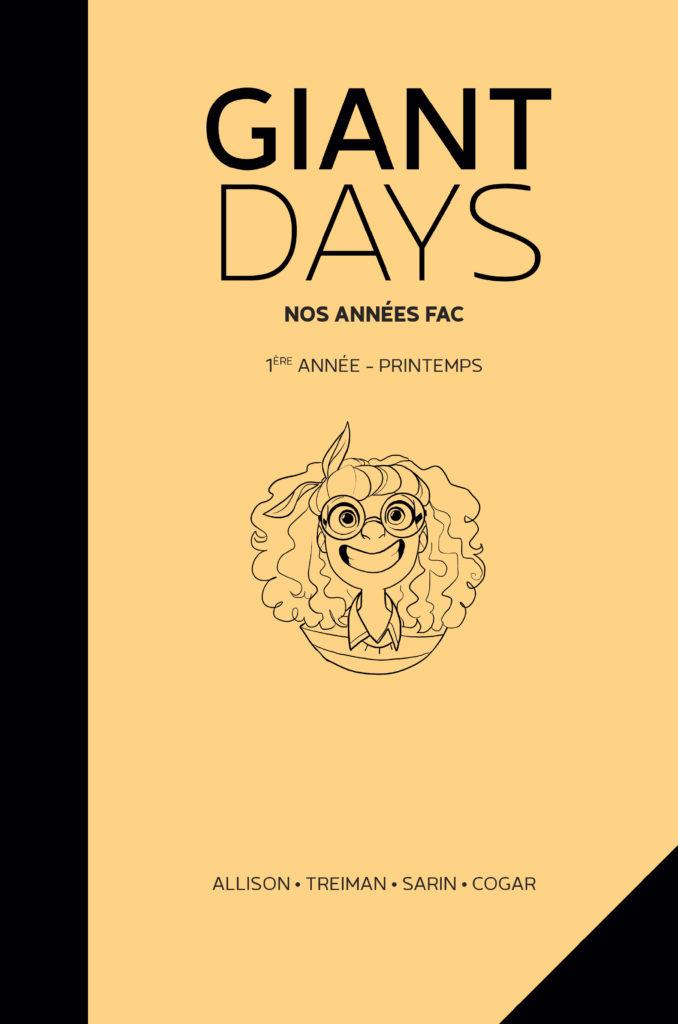 Giant Days – 1ère Année : Printemps - couverture