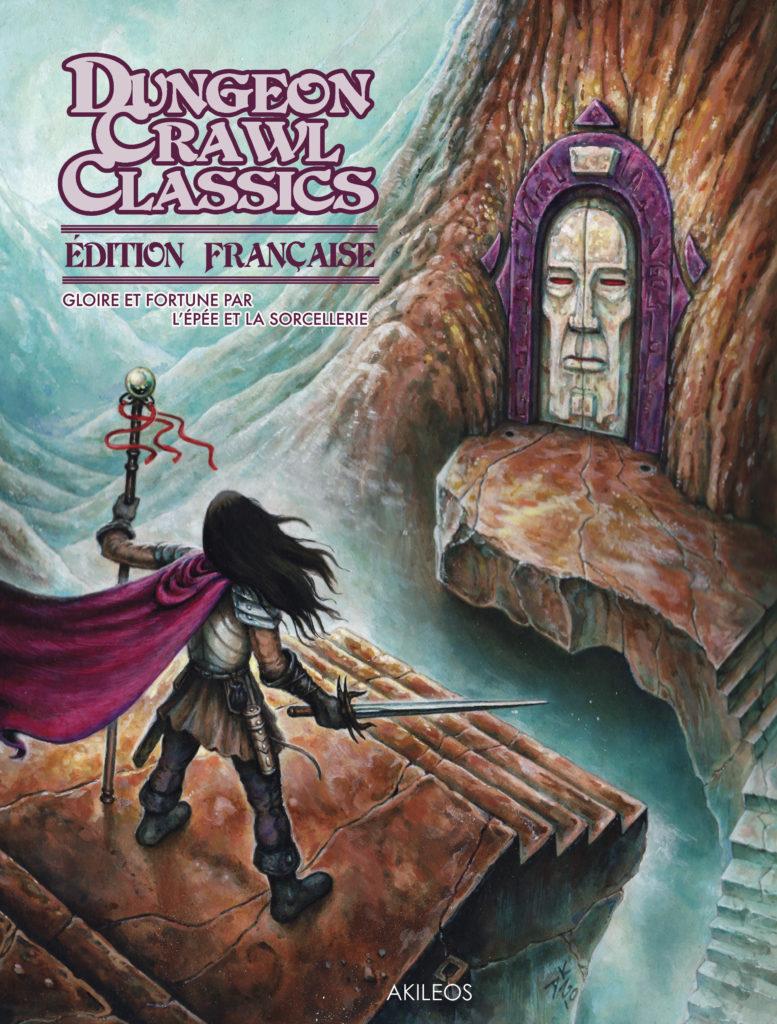 Dungeon Crawl Classics – Le livre de règles - couverture