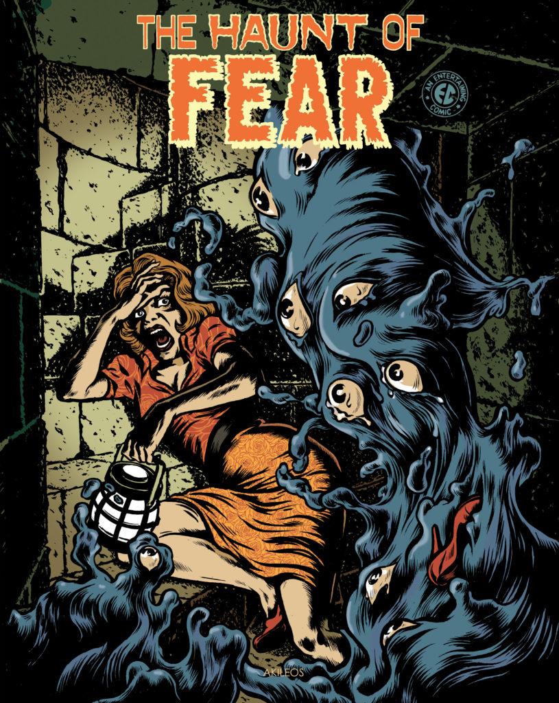 The Haunt of Fear, T.4 (+ livret des couvertures originales) - couverture