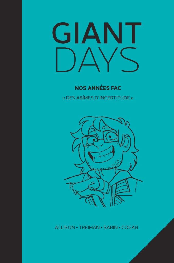 Giant Days V – «Des abîmes d'incertitude» - couverture