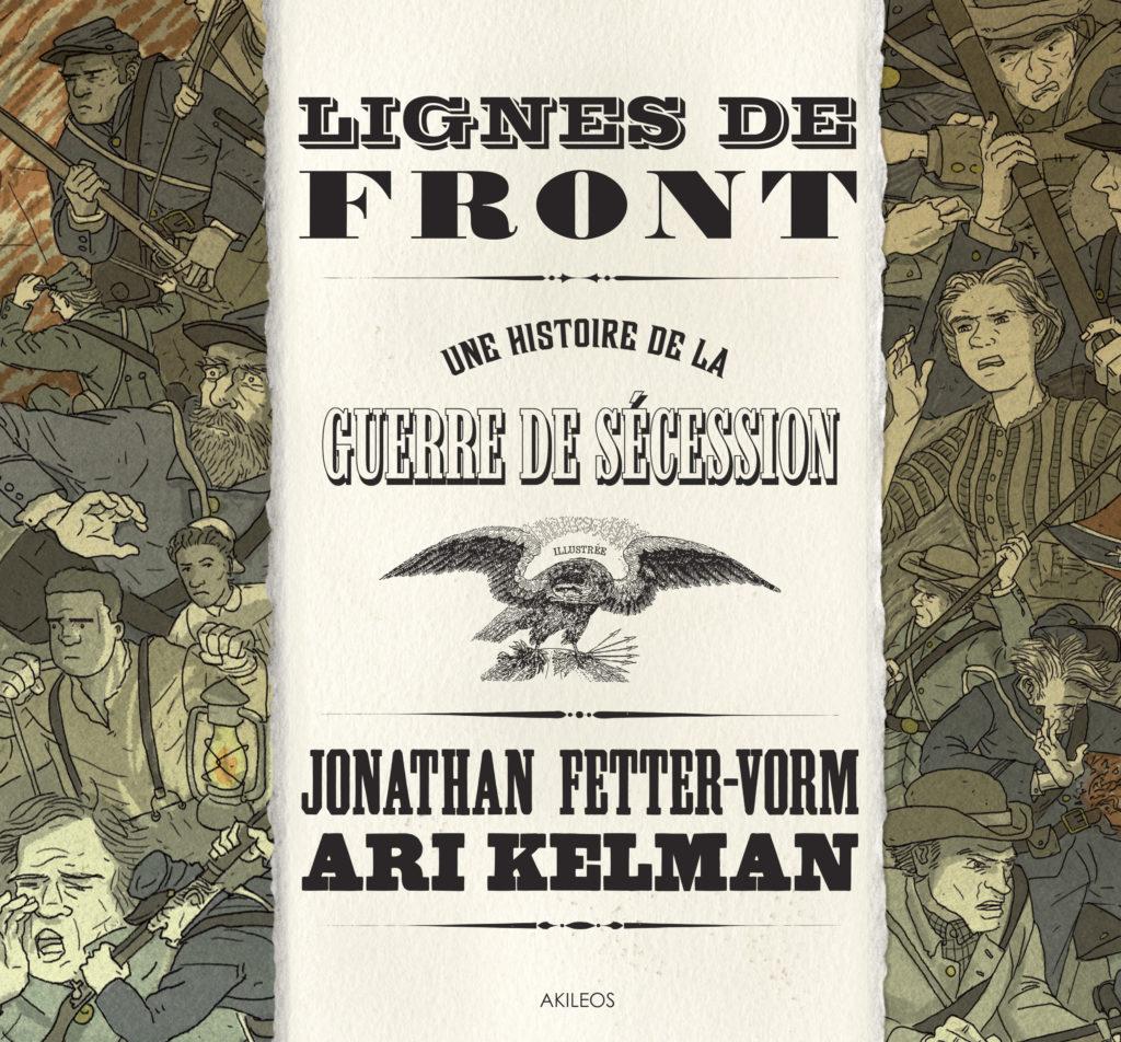 Lignes de front – Une histoire de la guerre de Sécession - couverture