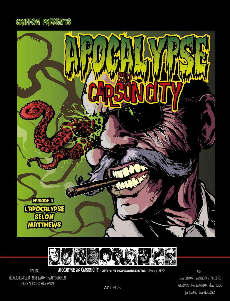 Apocalypse sur Carson City, T.5 – L'Apocalypse selon Matthews - couverture