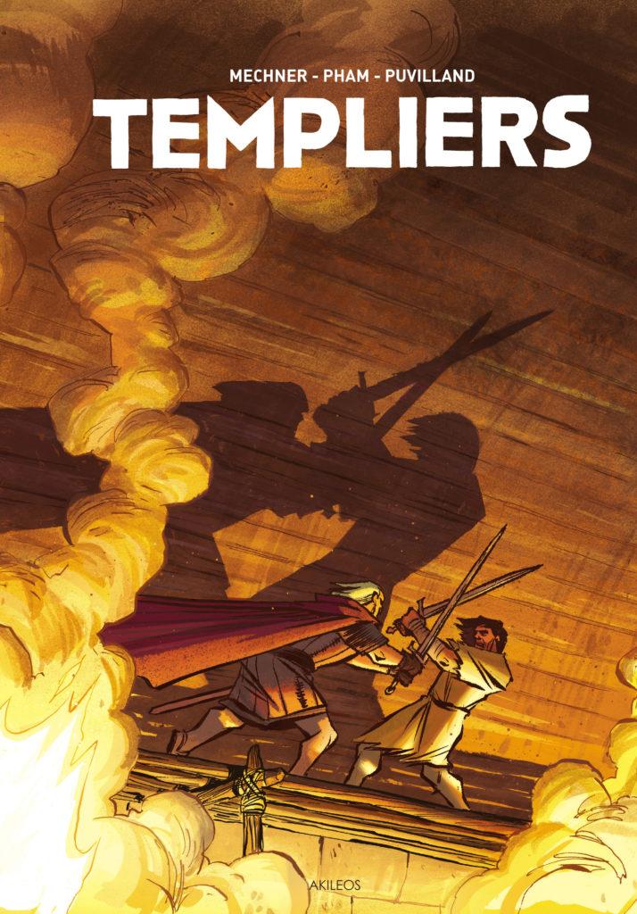 Templiers – Intégrale - couverture