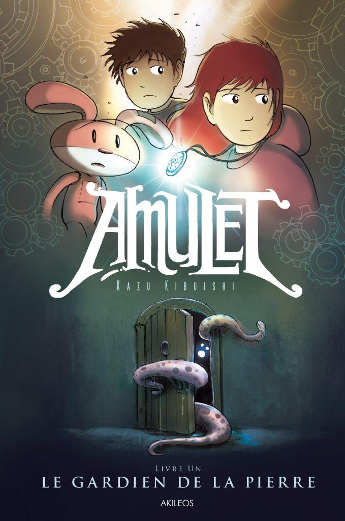 Amulet, T.1 – Le Gardien de la Pierre - couverture