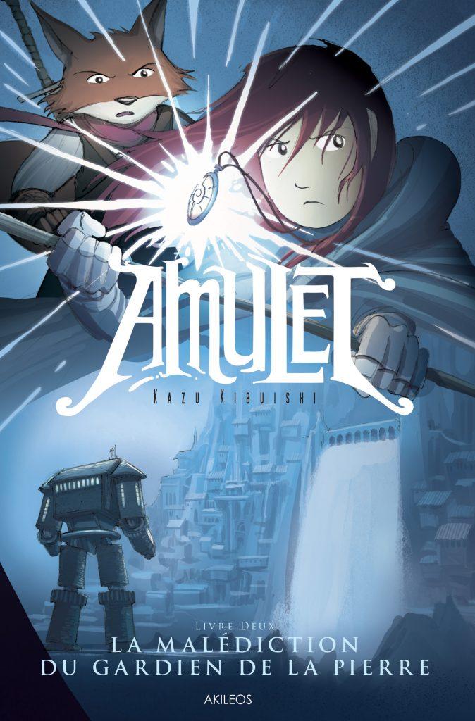 Amulet, T.2 – La Malédiction du gardien de la pierre - couverture