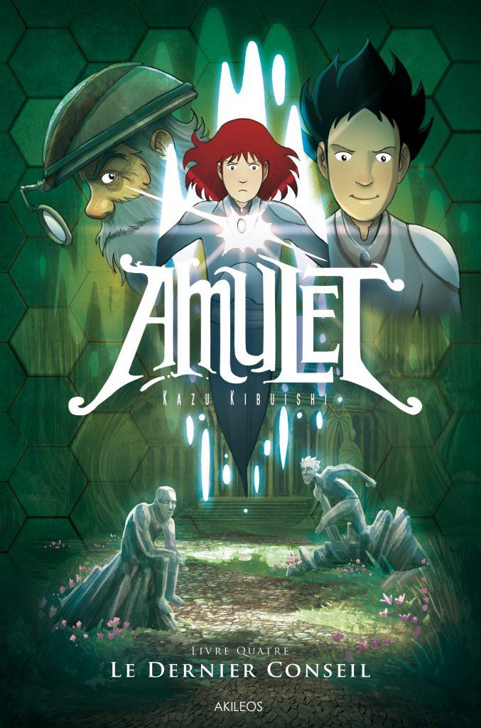 Amulet, T.4 – Le dernier Conseil - couverture