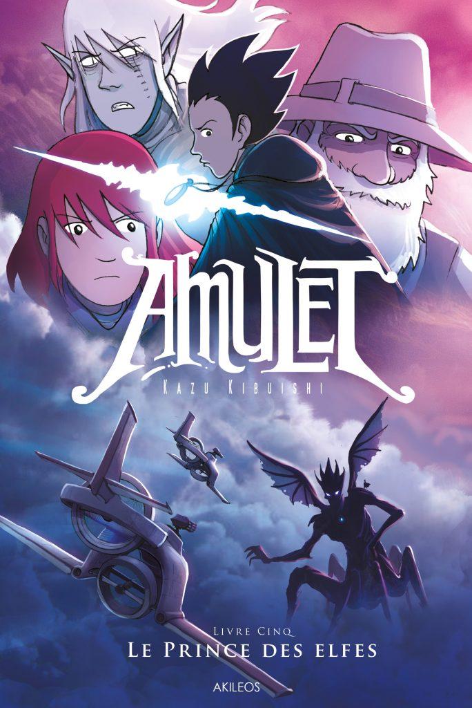 Amulet, T.5 – Le Prince des Elfes - couverture