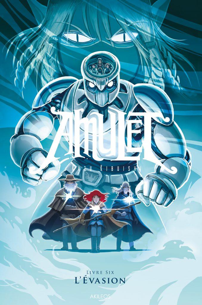 Amulet, T.6 – L'évasion - couverture