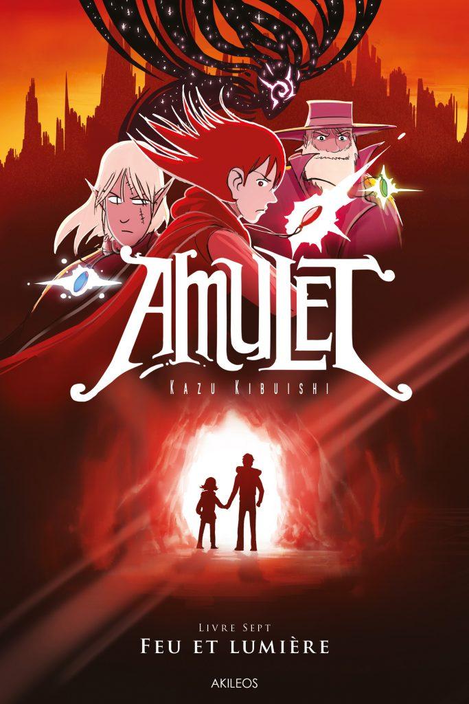 Amulet, T.7 – Feu et lumière - couverture