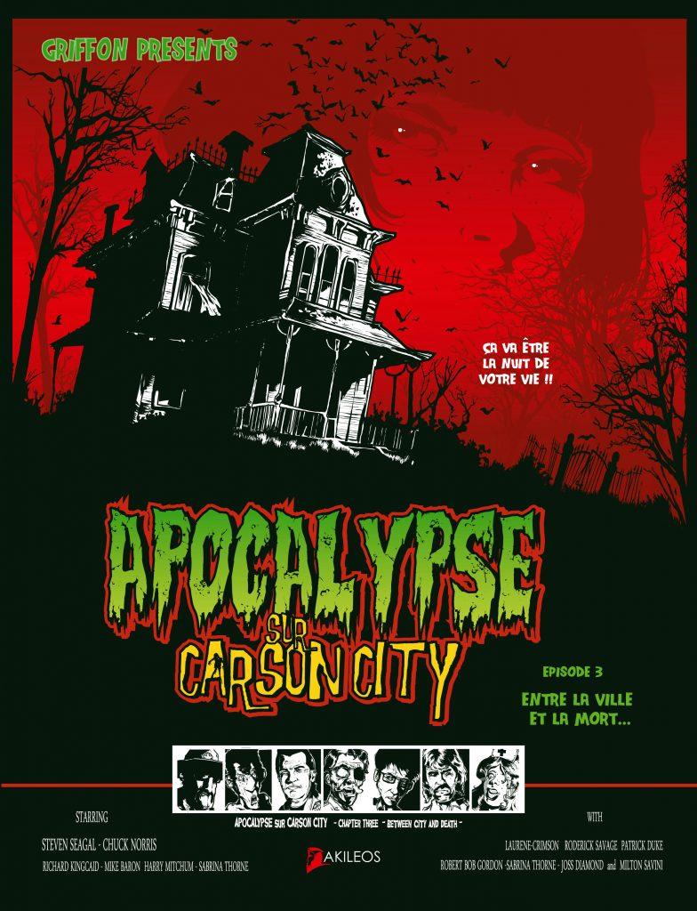 Apocalypse sur Carson City, T.3 – Entre la ville et la mort… - couverture