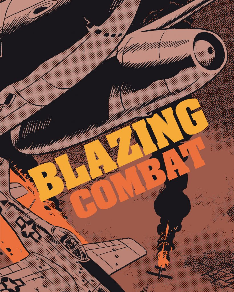 Blazing Combat - couverture