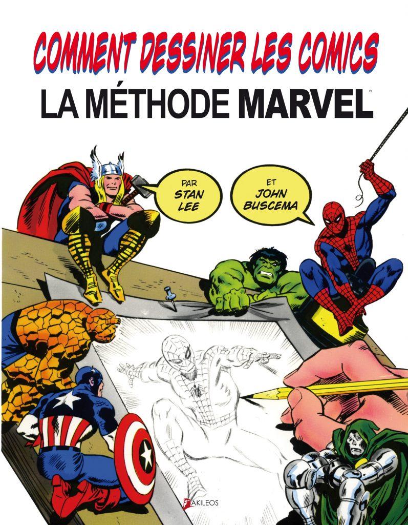 Comment dessiner les comics – La méthode Marvel - couverture