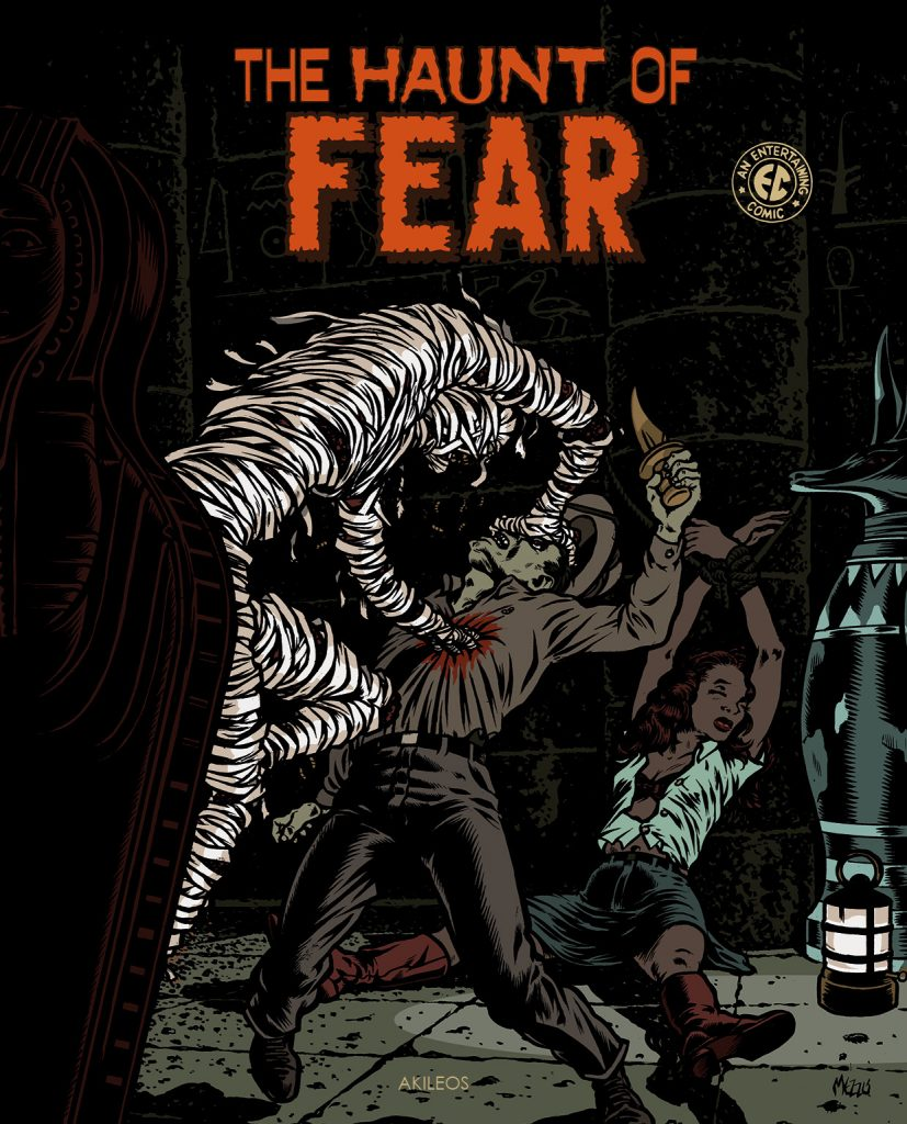 The Haunt of Fear, T.1 - couverture