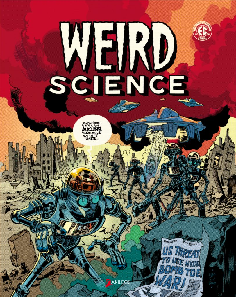 Weird Science, T.1 - couverture