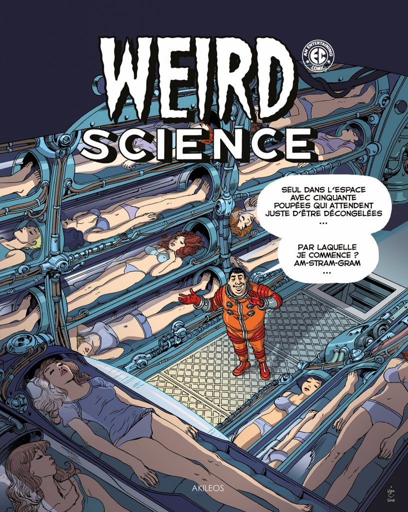 Weird Science, T.3 (+ livret des couvertures originales) - couverture