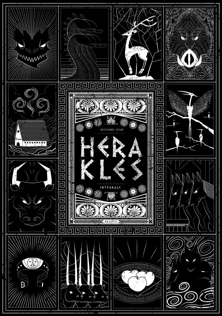 Herakles – Intégrale collector - couverture