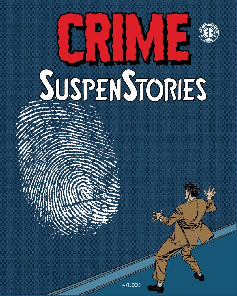 Crime SuspenStories, T.3 - couverture