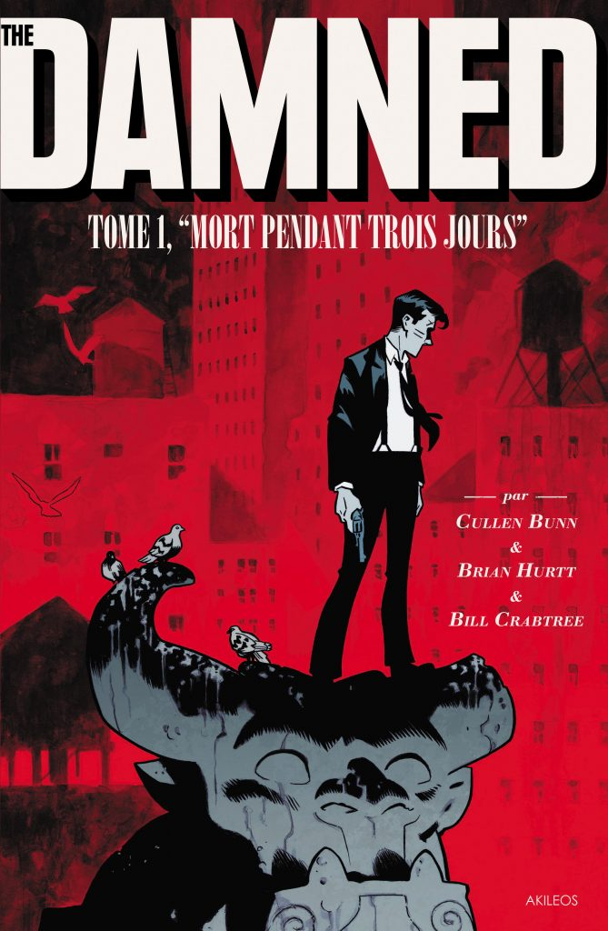 The Damned, T.1 – Mort pendant trois jours - couverture