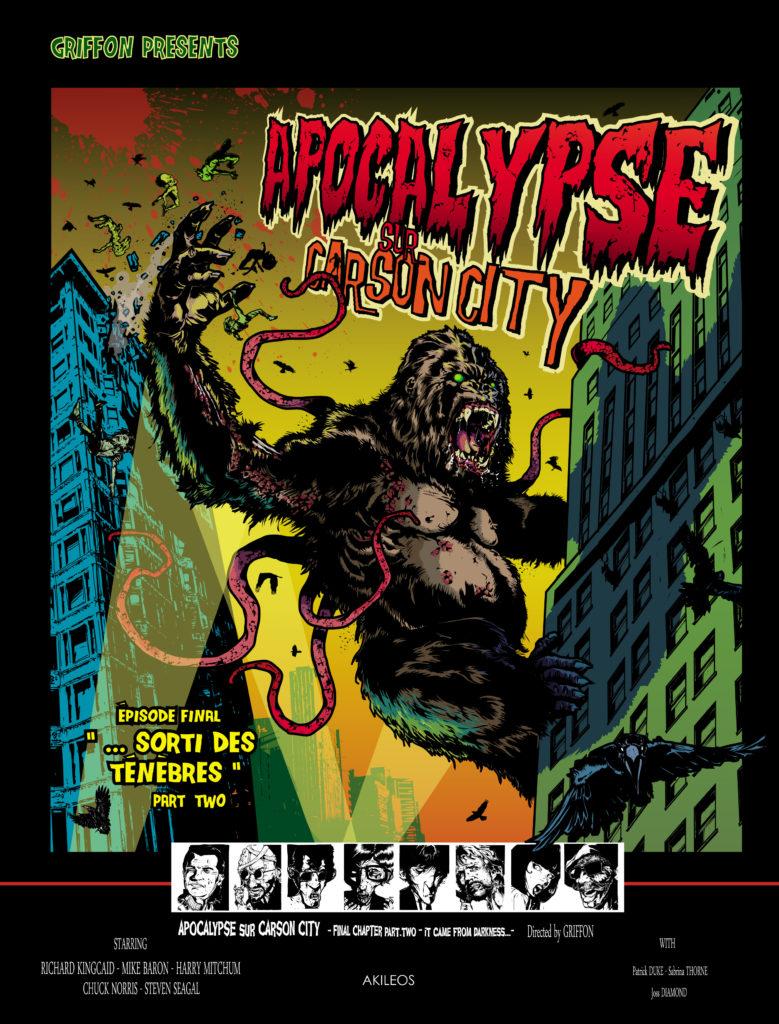 Apocalypse sur Carson City, T.7 – Sorti des ténèbres (Part Two) - couverture
