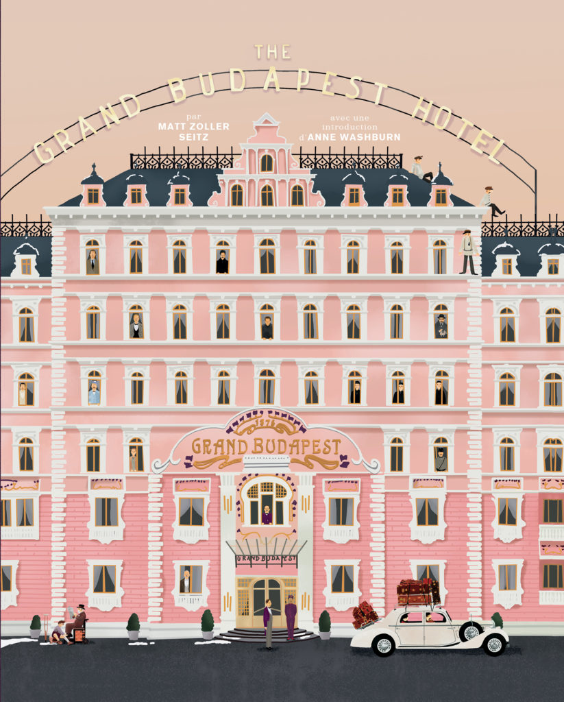 The Grand Budapest Hotel - couverture